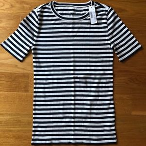 NWT JCrew Slim Perfect T-Shirt in Stripe